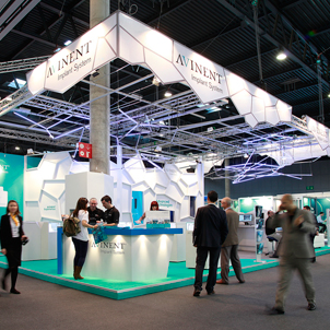 Design and production of the stand for the Expodental trade fair