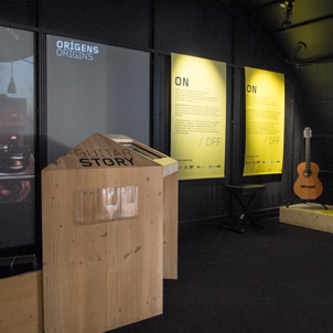 «Guitar on/off» Exhibition