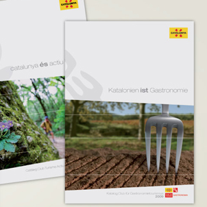 Catalan Tourist Board catalogues