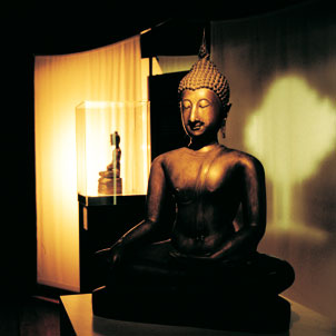 Buddha, light of the Orient