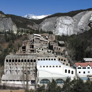 Dramatised audio-guides of the Asland Cement Museum in Castellar de N'hug