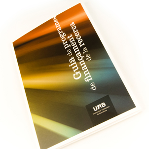 Guide to research funding programmes of the UAB