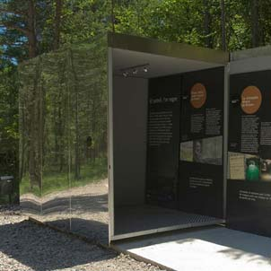 Reception and information centre for visitors