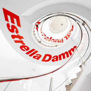 Management and marketing of visits to the Estrella Damm factory
