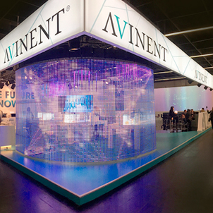 Design and production of the IDS stand for AVINENT