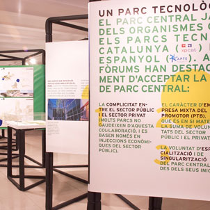 Projects for the future Technology Park of Central Catalonia